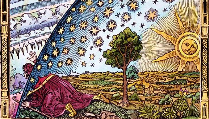 Universo aristotele testa