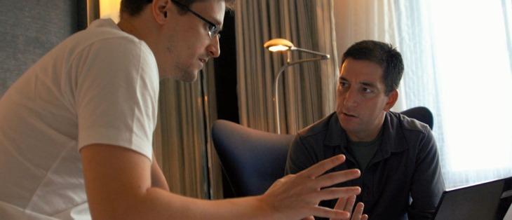 Edward Snowden e Glenn Greenwald