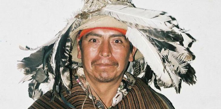 Sciamano delle Ande