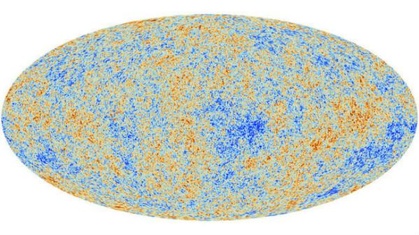 La radiazione cosmica di fondo fotografata con un radiotelescopio