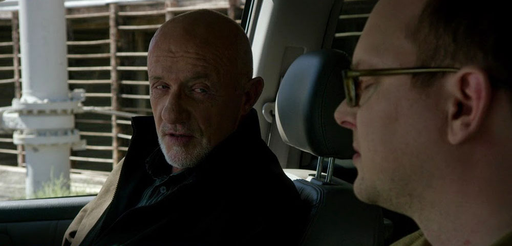 Jonathan Banks e Mark Proksch in