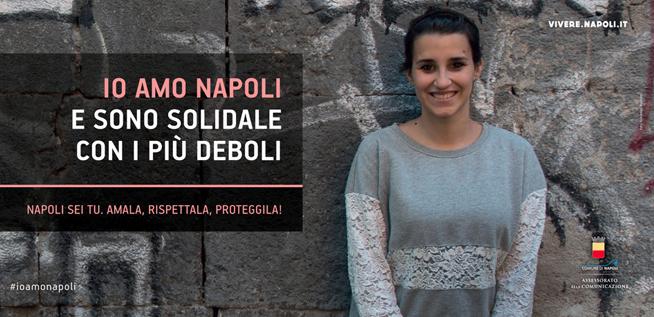 Pro loco del Comune di Napoli a favore della legalità. 2014.